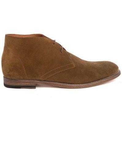 Camel suede desert boots  ad Euro 265.00 in #Anthology paris #Calzature stivali e stivaletti