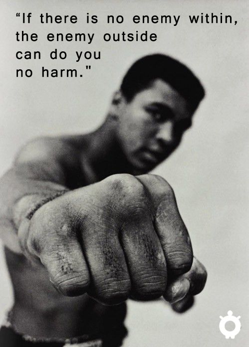 #Inspiration from the greatist ... quote MuhammadAli