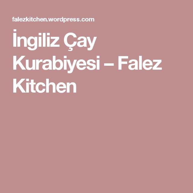 İngiliz Çay Kurabiyesi – Falez Kitchen