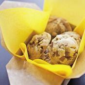 Cookies au beurre cacahuètes et pépites de chocolat - une recette Gâteau - Cuisine