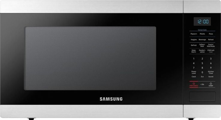 Samsung - Countertop Microwave - Stainless Steel (Silver)
