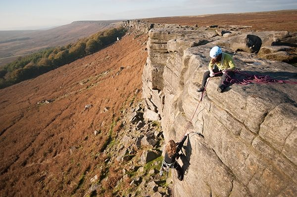Top 10 British trad crags for beginners