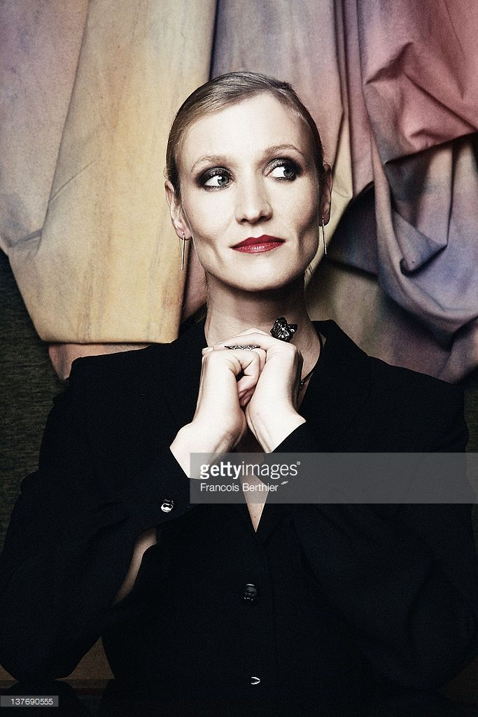 Photo d'actualité : Actress Alexandra Lamy is photographed for Self...