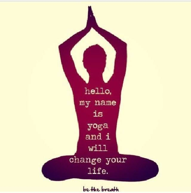 45: Hello, my name is yoga and I will change your life.