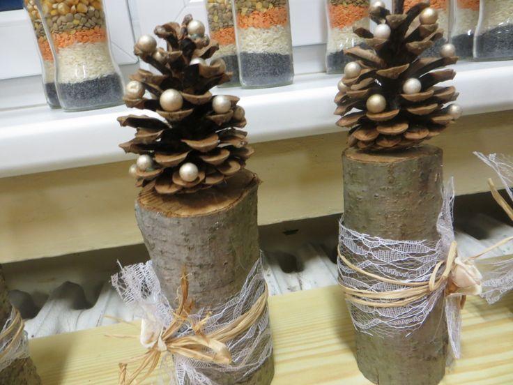 vánoční tvoření z přírodnin