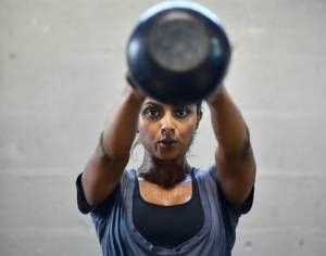 MUSCLE GAINS: The unique nature of the kettlebell coupled with v...