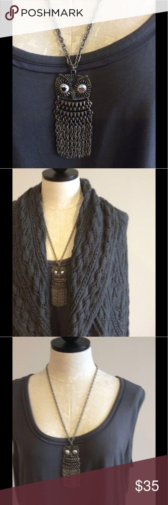 Park Lane owl necklace Adorable silver Park Lane owl necklace. Park Lane Jewelry Necklaces