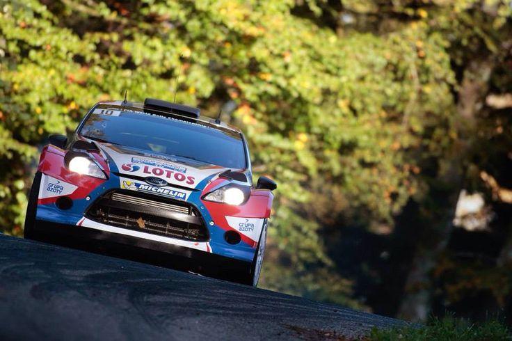 Robert Kubica - Ford Fiesta WRC - Rallye de France 2014
