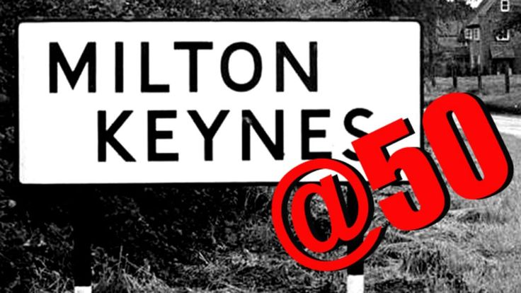 """Milton Keynes is perhaps the best known of the 20th Century's """"new towns"""", but how has it changed over the past 50 years?"""