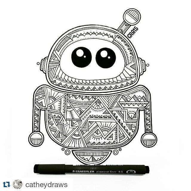 #Repost artwork karya @catheydraws by kelasgambar