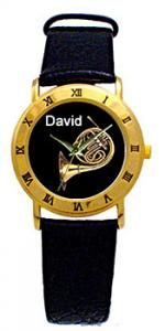 french horn gifts | Personalized French Horn Watch