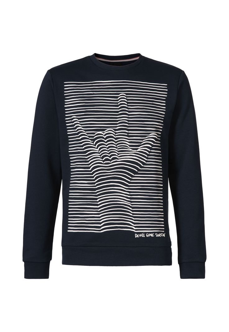 Shirt design pinterest - Sweater With Graphic Rubber Print Mens Sweaters Gsus