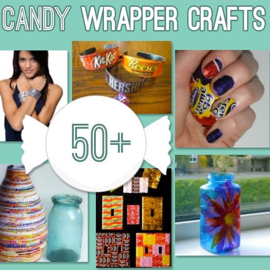 Over 50 Candy Wrapper Crafts to make #DIY from @savdbylove~ Some of these would make GREAT GIFT #Gift Wrapping #Gift Wrapper| http://gift-wrapper.lemoncoin.org