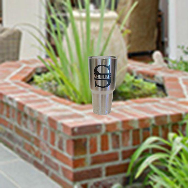Custom yeti - custom - yeti - personalized - gift - YETI Tumbler - Yeti Rambler - Yeti 30 oz Tumbler - Monogram - Personalized YETI - mug