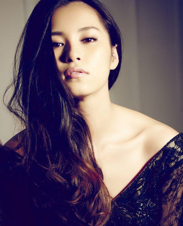 Asian celebrity model