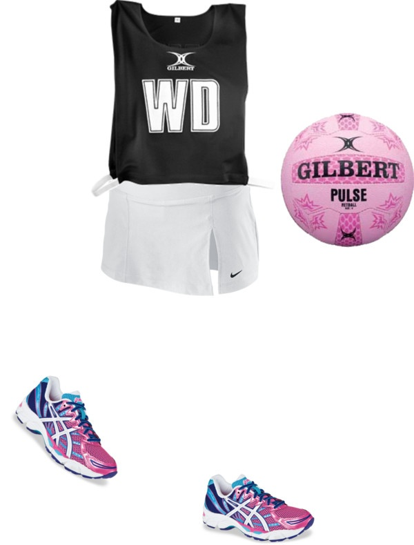 """Netball"" by rebecca-obrien on Polyvore"
