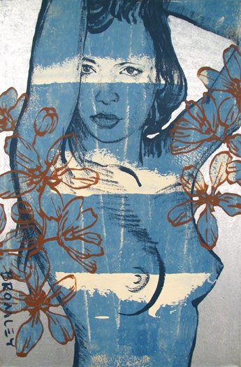 Laura - Pintura de David Bromley - Austrália