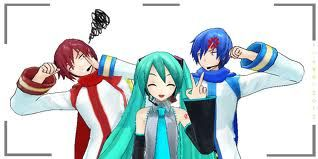 Miku in the front!!!