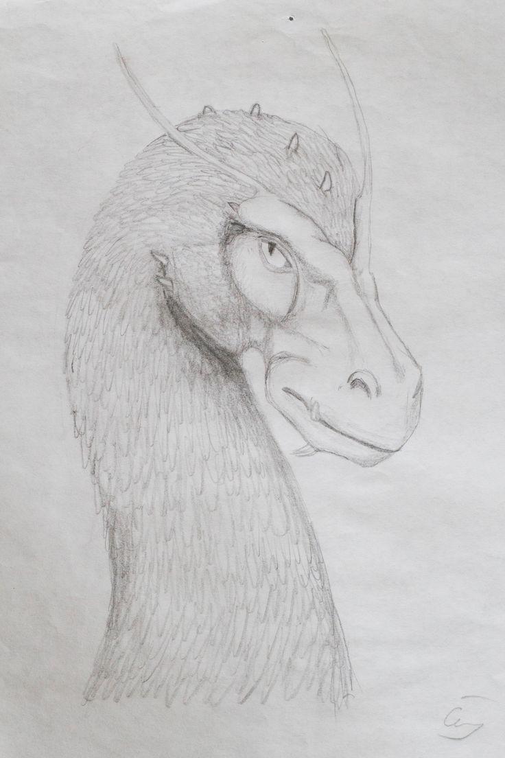 dragon saphira drawing
