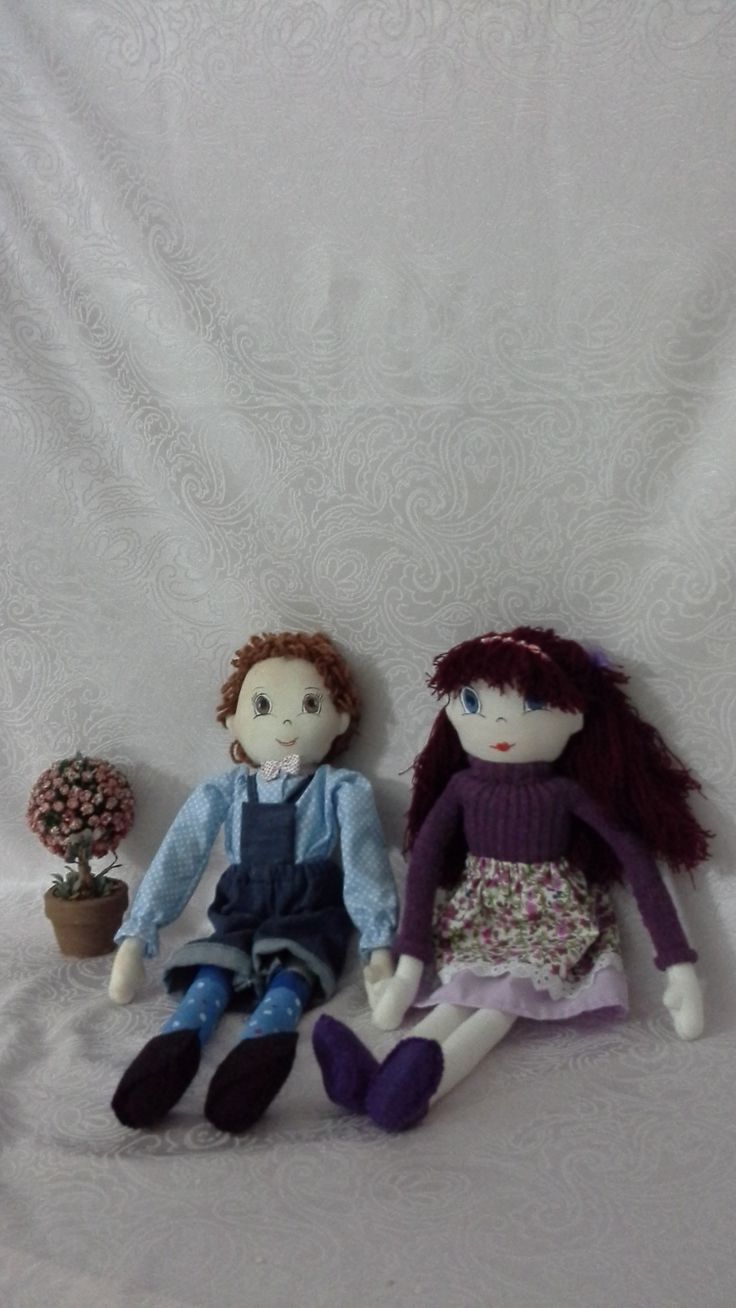 Handmade Cloth Dolls - 43 cm Boy / Girl