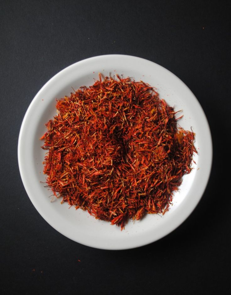 Mexican Saffron in Rice