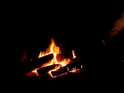 Around the campfire on the Farmstay, Bill plays his guitar and sings Aussie Ballads #Video #Sydney #travel
