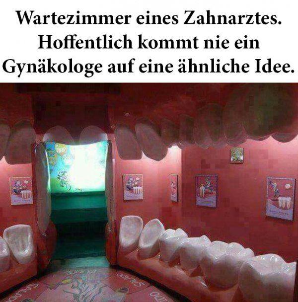 Das Wartezimmer eines Zahnarztes | Webfail - Fail Bilder und Fail Videos