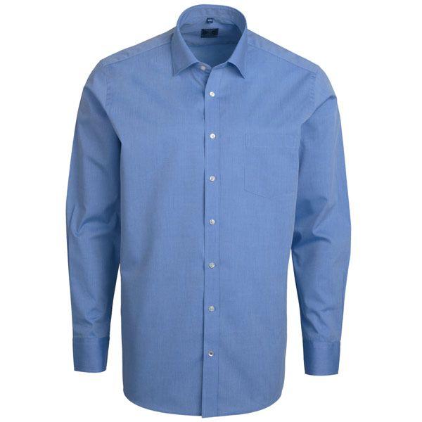 """Ανδρικό Πουκάμισο """"Zumsoft"""" Μονόχρωμο Μακρύ Μανίκι 100% Βαμβάκι #kmaroussis #andrika #poukamisa #men #cotton #shirts"""
