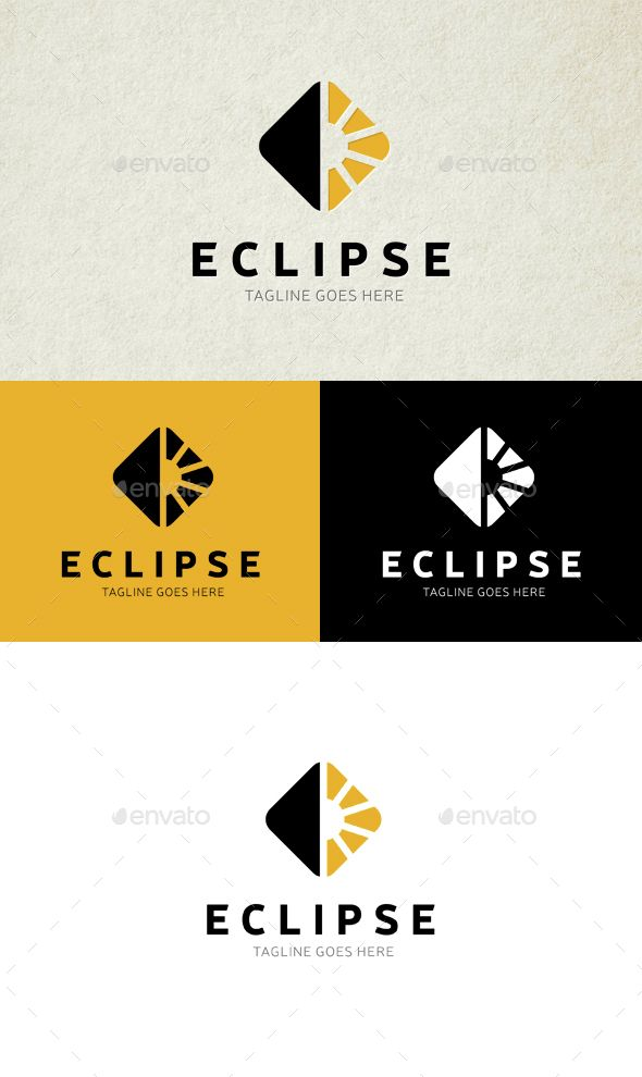 Eclipse Logo — Transparent PNG #light #sun • Available here → https://graphicriver.net/item/eclipse-logo/15085692?ref=pxcr