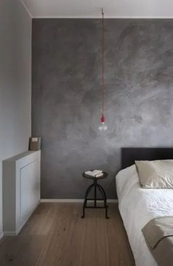 Minimal Furniture Look For Spacious Look: 15 Industrial Style Designs With Concrete Walls For