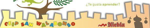 El CEIP San Walabonso de Niebla (Huelva) es un centro que ha apostado claramente por la integración de las TIC en la vida educativa cotidiana. En este contexto tiene un Plan de fomento y mejora de la lectura eficaz, dentro del cual los alumnos recitan poesías o textos literarios clásicos que graban creando Audiolibros.