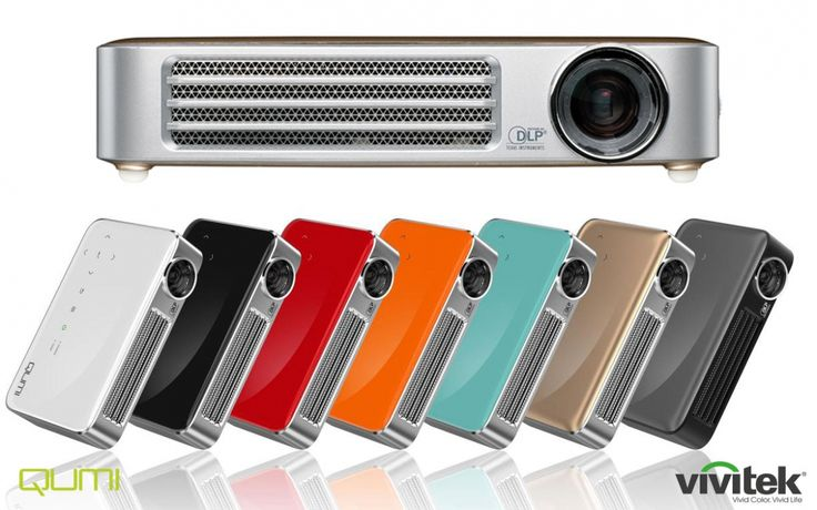@VivitekFrance Qumi Q6 HDMI Vidéoprojecteur DLP