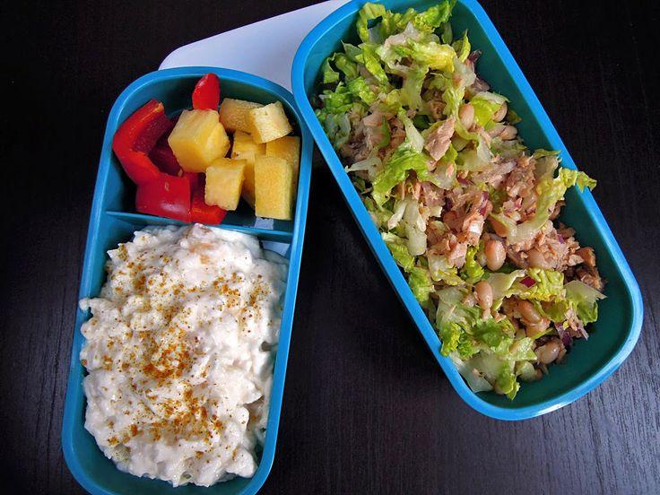 Codzienne Gotowanie: Jedzonko do pracy # 13 Sałatka z tuńczyka z fasolą