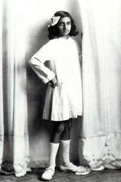A young Indira Gandhi