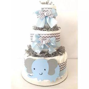 Torta De Pañales Baby Shower-bebes Recién Nacidos-ajuar - $ 360,00