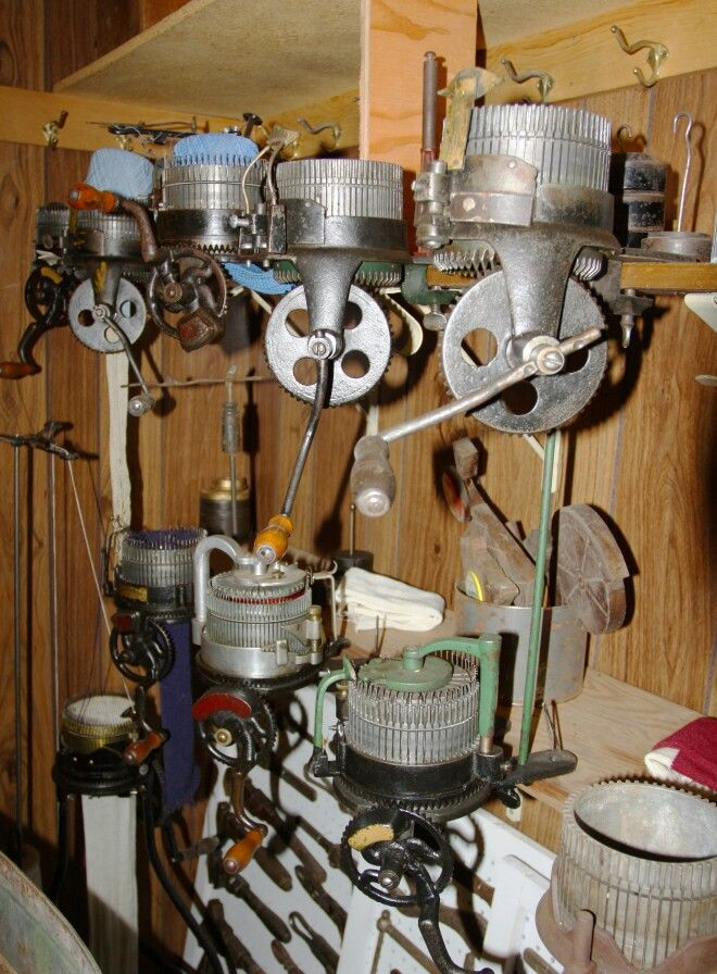Vintage Knitting Machine : Best images about antique knitting machines on