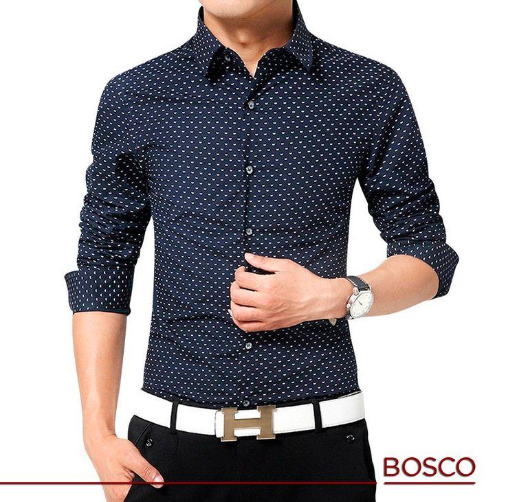 #ModaBosco Es importante utilizar un buen contraste al momento de escoger una camisa, asegurándonos siempre de que el color principal de los accesorios, si es que son necesarios, sea diferente, y más oscuro.