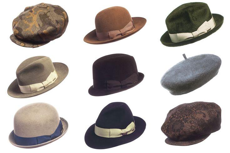 I modelli dei cappelli da uomo:Fedora,Trilby,Lobbia,Cilindro,Bombetta,Berretto,Coppola. Il blog del Marchese:blog di moda maschile e stile italiano.