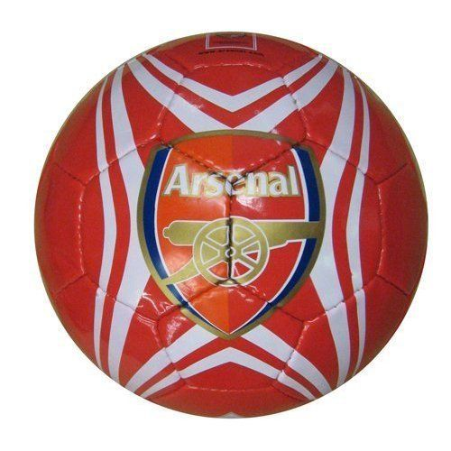 Arsenal Soccer Ball (Size 5) by Rhinox. $34.99. Arsenal is a young and promising contender in European football.. Established in 1970 in England. Original authentic product. Arsenal has developed a distinct fashion and modern appeal that resonates with consumers across the globe.. Team Arsenal, officially licensed Brand new 32 sewn panel  Size 5, regulation size soccer balls, manufactured to official size and weight specifications. Hand stitched premium synthetic leather ...