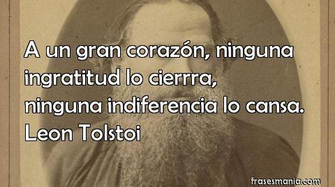 Citas celebres de Leon Tolstoi