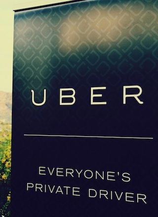 Inside the offices of Uber