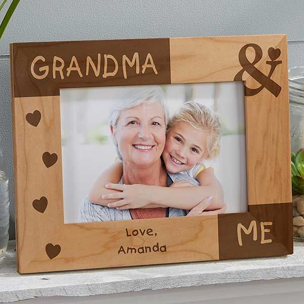 Personalized Mommy Me Photo Frame 5x7 Frame Personalized