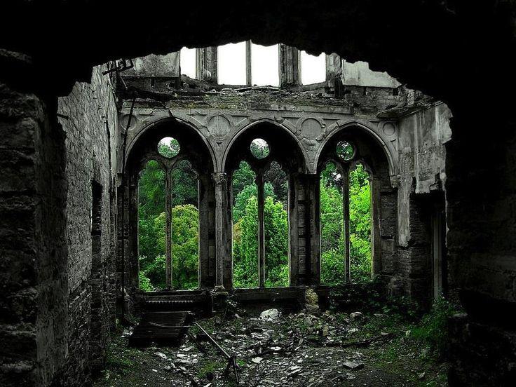 Зал Хафодунос в Ллангерниве, Северный Уэльс
