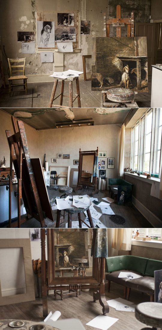 Andrew Wyeth's studio in Chadds Ford, Pa