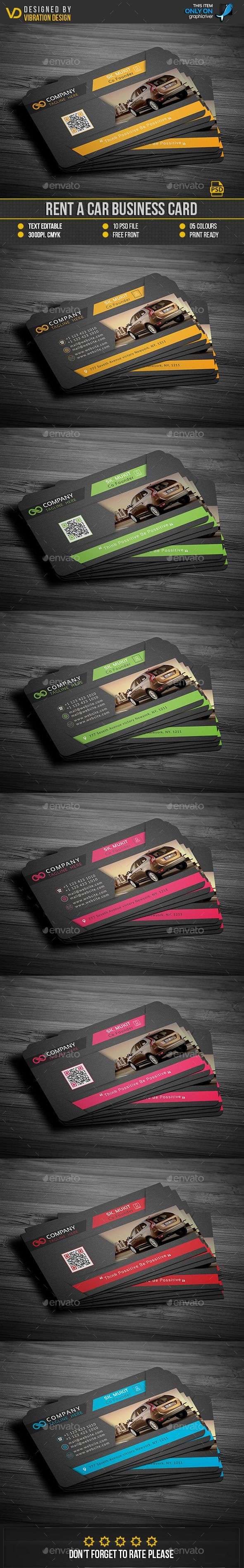 22 best rent a car business card images on pinterest business rent a car business card magicingreecefo Images