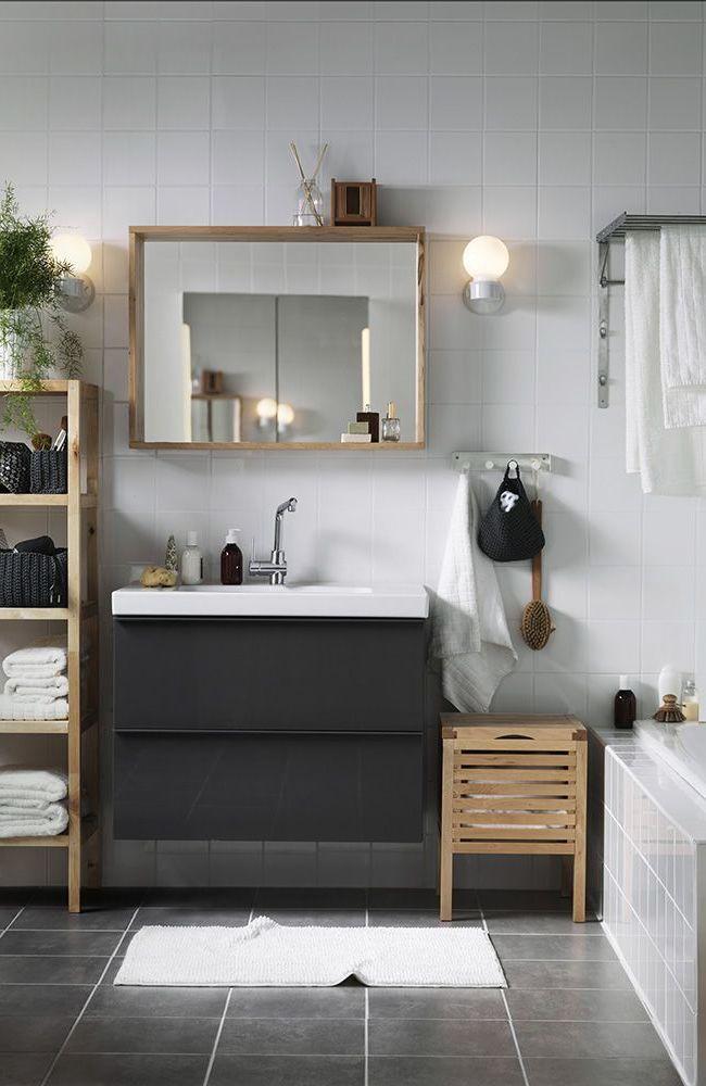 Ikea Bathroom Furniture Full Of Functionality And Fineness New Decoration Ideas In 2020 Ikea Badmobel Ikea Badezimmer Badezimmerwaschtisch