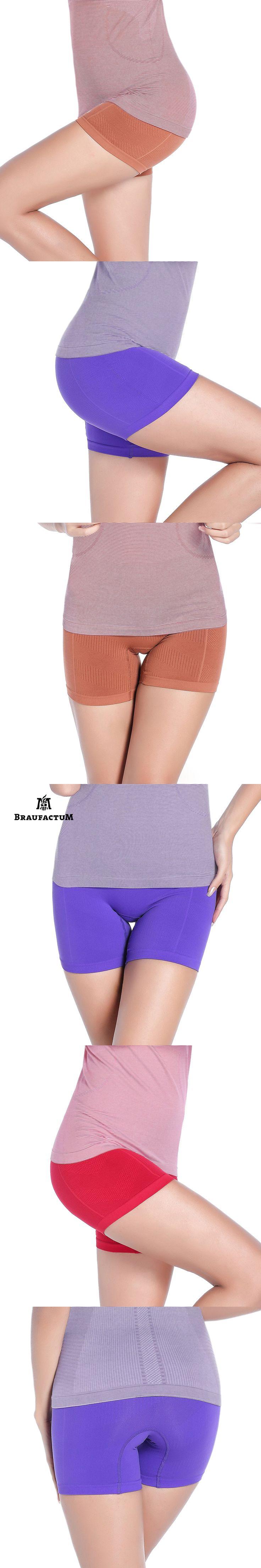 BRAUFACTUM 2017 New Women Sport Trousers Beach Skinny Short Sports Underwear Women Quick Dry Yoga Sport Running Fitness Jogging