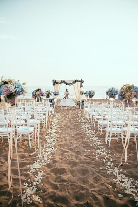 Trauung im Freien, Outdoor Hochzeit, Strandhochzeit