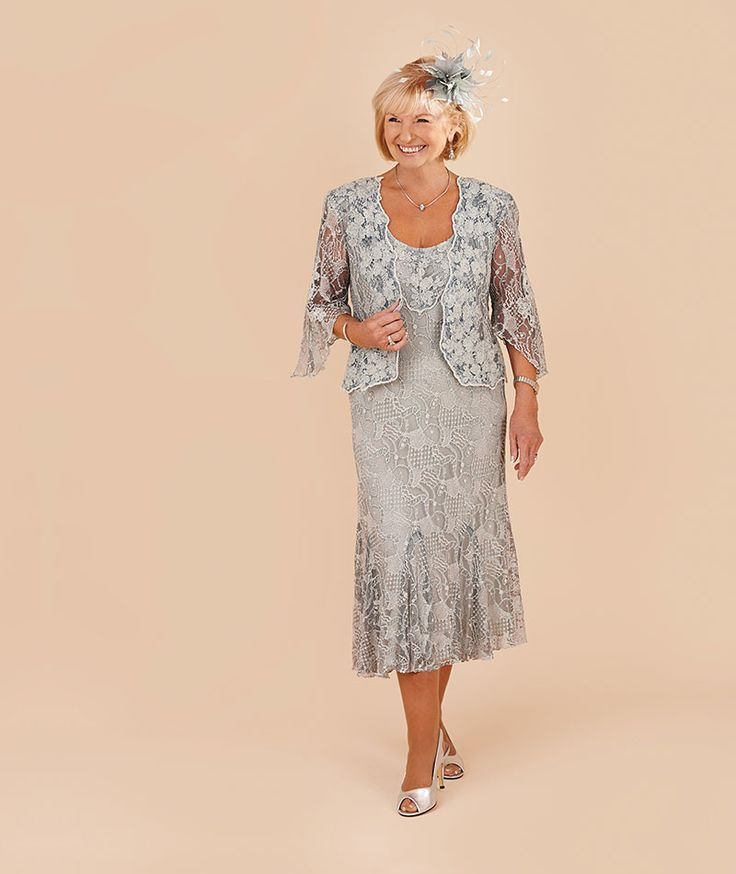 Ann Balon Serena dress and short jacket - Catherines of Partick