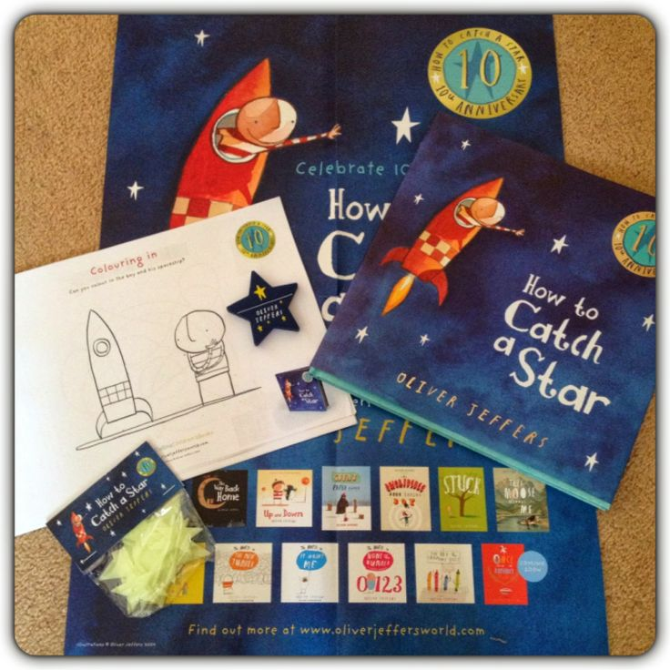 how to catch a star oliver jeffers drama activites